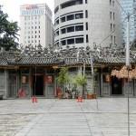 Ein chinesischer Tempel von außen, Innenaufnahmen sind verboten.