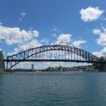 Die Sydney Harbour Bridge, die bekannteste Brücke der Stadt.